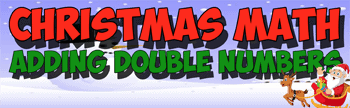 christmas math song double numbers