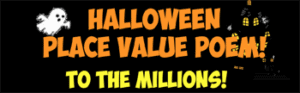 halloween place value to the millions