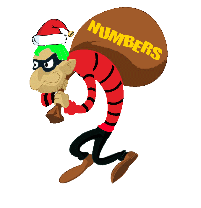 the number thief