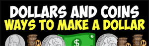 ways to use coins to make a dollar- video