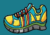 shoe sneaker cartoon