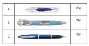 pens for pen exemplar