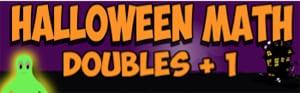 halloween math doubles plus 1