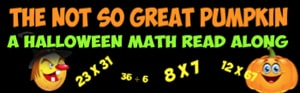 not so great pumpkin multiplication math story