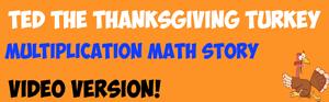 thanksgiving math story video
