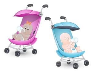 strollers with babies