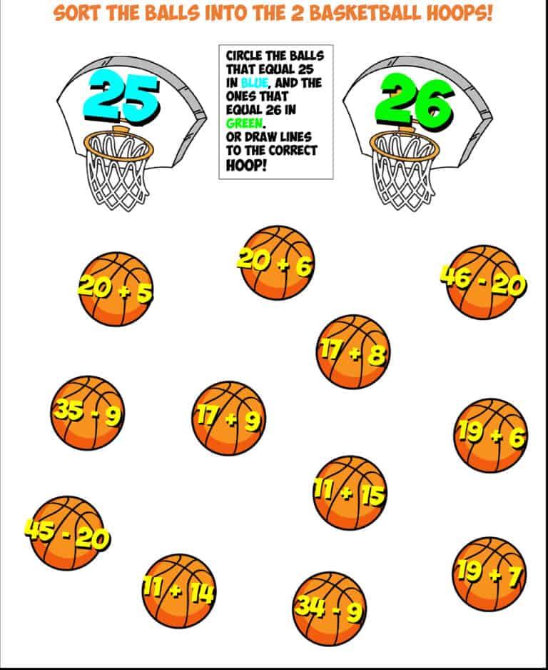 basketball sort #1