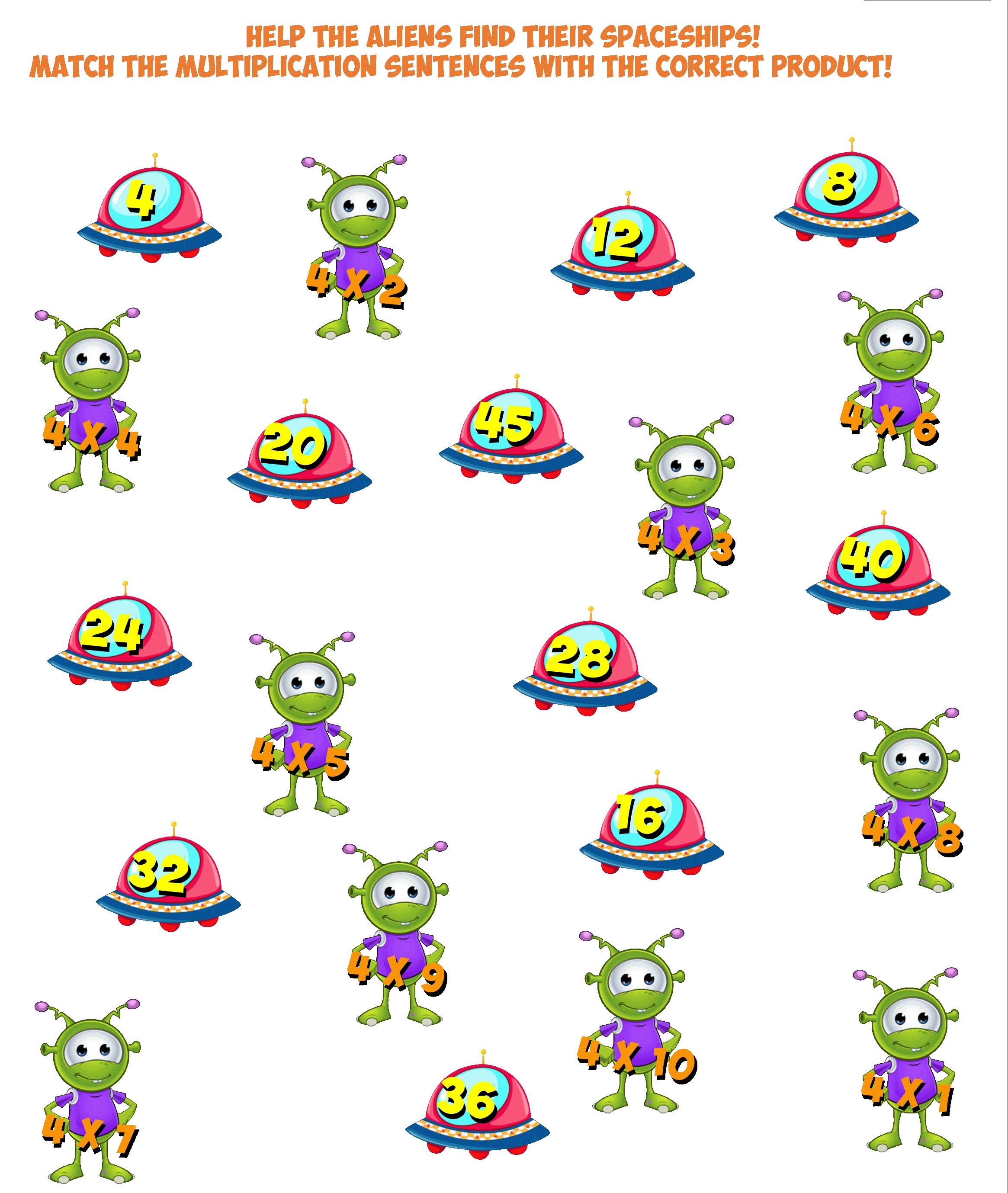 alien match multiples of 4