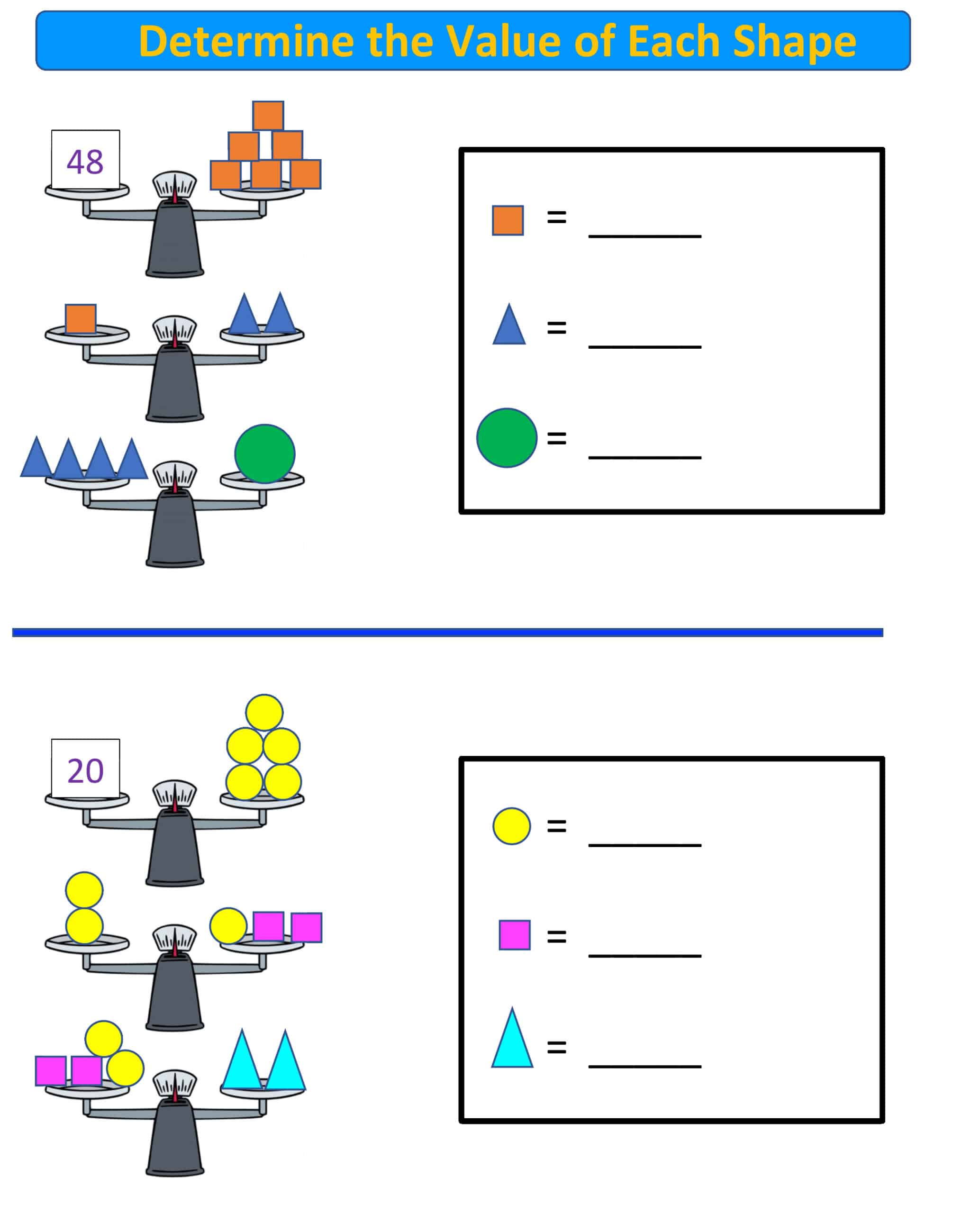 balance scale math 3-8 grade.2