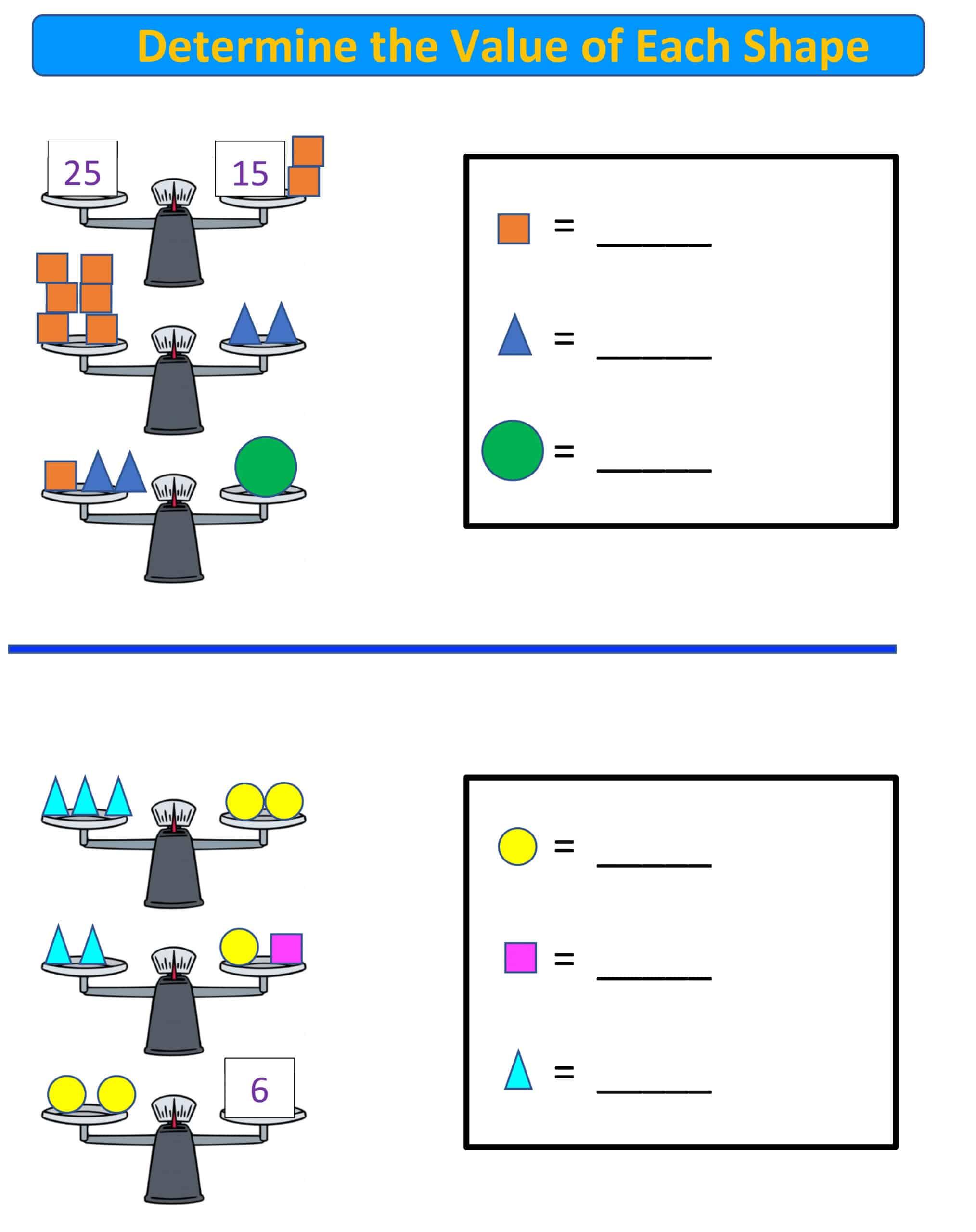 balance scale 3-8 grade.4