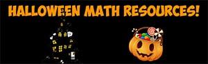 halloween math resources