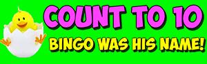 count to ten BINGO