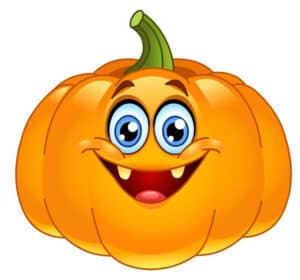 pumpkin with face