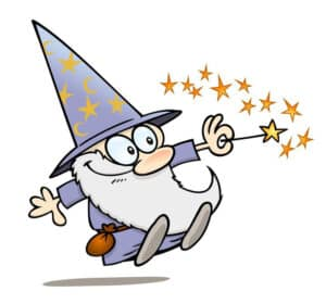 wizard cartoon
