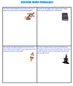 Division Word Problems 1THUMB