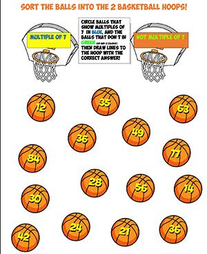 basketball multiplication thumb