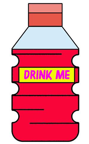 bottle drink me