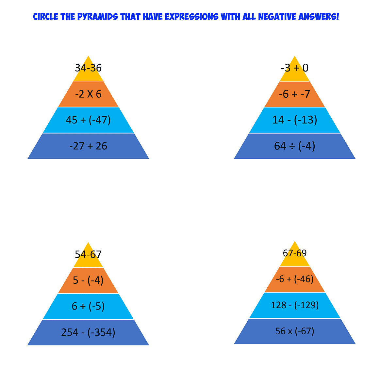 integer pyramids 1
