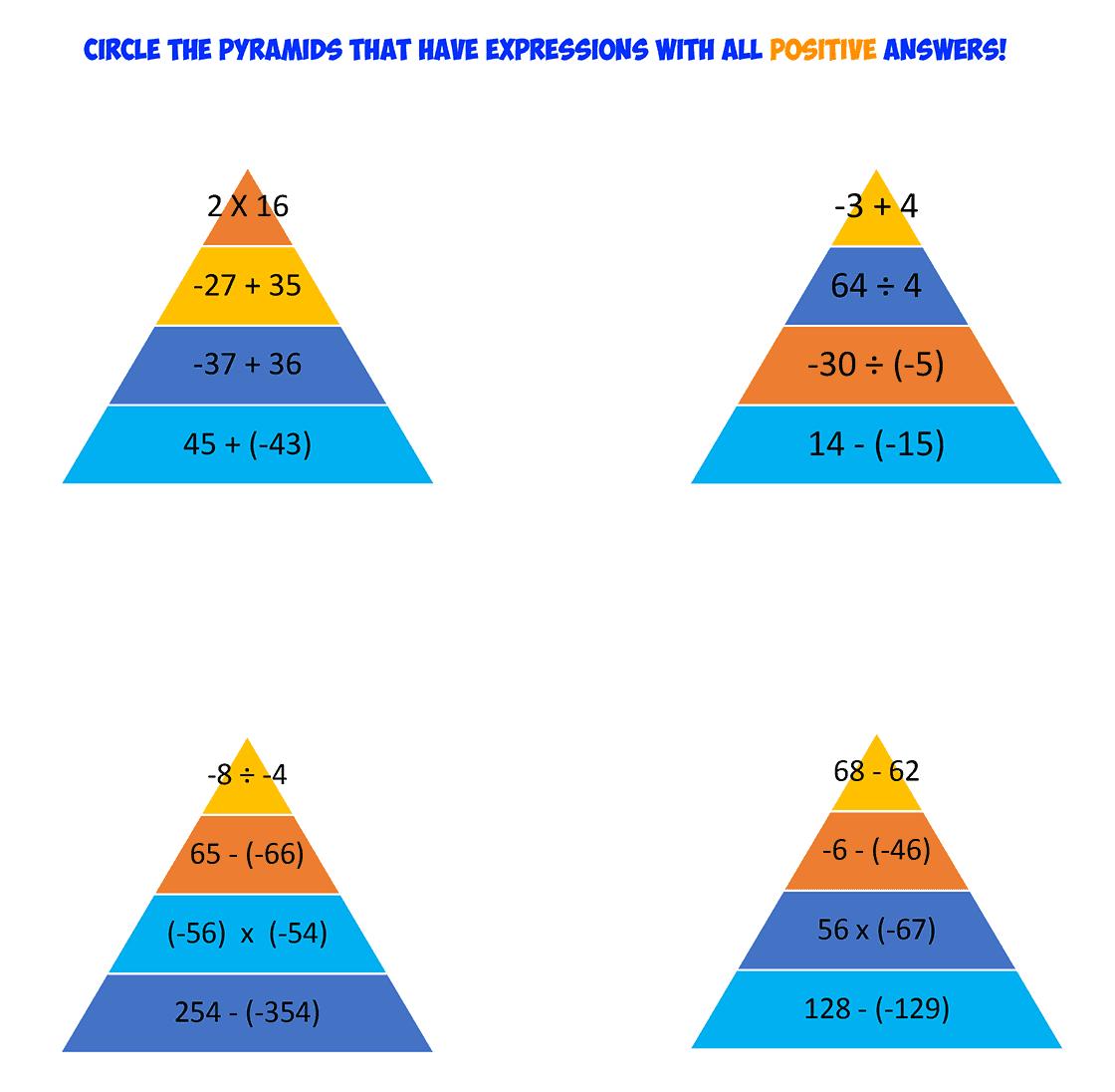 integer pyramids 2