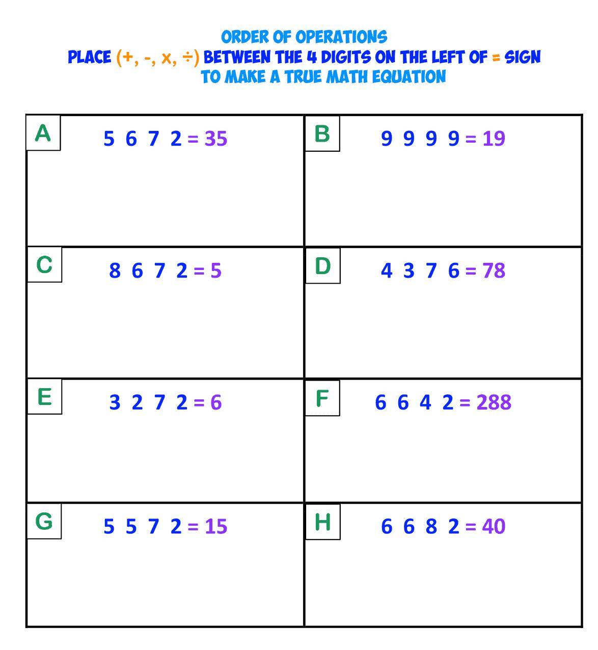 INTEGER CHALLENGE 1-1