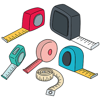 rulers tape measures